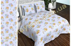 Ткань детская Бязь Gold для постельного белья Uxt-521-3-Blue