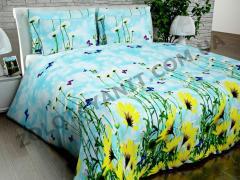 Ткань Китайский полиэстер 53гр для постельных принадлежностей 1028-3