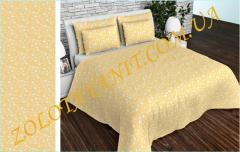 Ткань Тик наперниковый, 100% хлопка 215-Yellow