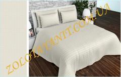 Ткань Тик наперниковый, 100% хлопка 2752-1-White