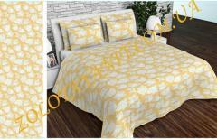 Ткань Тик наперниковый, 100% хлопка Js-100-0021-Yellow