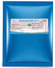 ЕКСП ФАРМАТИЛ 10%(порошок) бан.200г .ящ-30 бан.