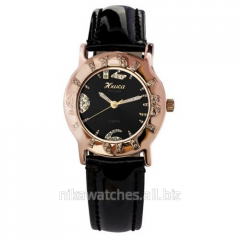 Women gold watch Mistletoe