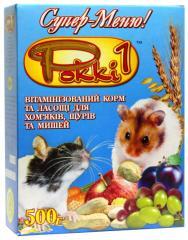 """КОРМ д/гризунів """"РОККІ-1"""""""