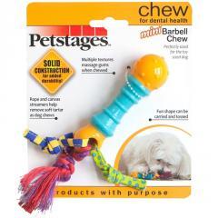 Іграшка д/собак PETSTAGES Mini Barbell Crew міні