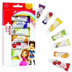 Детская зубная паста Edel+White 7 фруктов