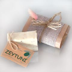 Cosmetics for the Turkish hamam, olive soap for a
