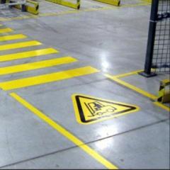Stickers, self-adhesive-floors in warehouses, buy