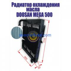 Радиатор масляный погрузчика Doosan Mega 500