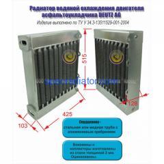 Радиатор водяной для двигателя Deutz AG...