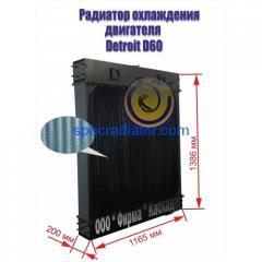 Радиатор водяной для двигателя Detroit D 60