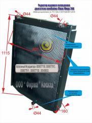 Радиатор водяной комбайна Claas Mega 208
