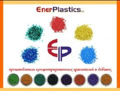 Dyes superconcentrates for polymers