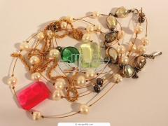 Necklace costume jewelry