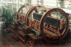 Стационарные роторные вагоноопрокидыватели ВРС-93,