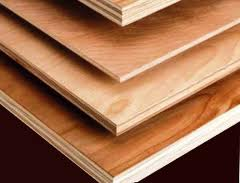 Plywood from wood of soft breeds S Grade