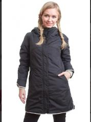 Women's jacket down-padded coat artikul24711