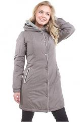Down-padded coat female article 24713
