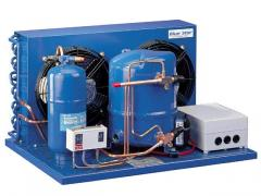 Refrigerating units power are from 0.9 to 54 kW