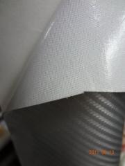 Карбон на тканевой основе 3D (цвет: чорный,