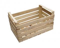 Boxes are wooden tare