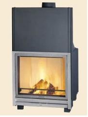 Fire chamber steel for Hark 300H fireplace