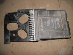 The auto parts which were in the use. The block to