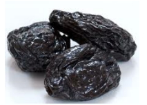 Pitted dried prune
