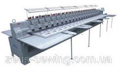 """Промышленная 10-головочная вышивальная машина для """"плоской"""" вышивки VELLES VE 1210H-W"""