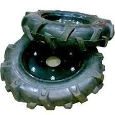 Wheels for mini-farming machinery