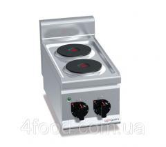 Плита электрическая GGM EHB363C 2-х конфорочная настольная 4 кВт