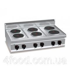 Плита электрическая GGM EHB173E 6-ти конфорочная настольная-15,6