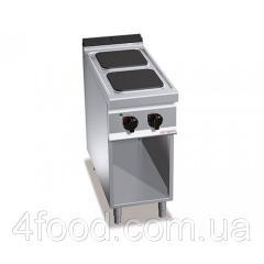 Электрическая плита GGM EHB499H 2-х конфорочная, прямоугольн. 7 кВт