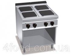 Электрическая плита GGM EHB899H 4-х конфорочная прямоугольн. 14 кВт