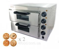 Печь для пиццы 4+4х20 электрическая GoodFood...