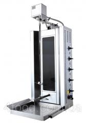Аппарат для шаурмы Ankemoller S5M стеклокерамика электр.с приводом 5горелок