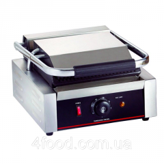 Contact Grill, grooved top bottom smooth Sybo