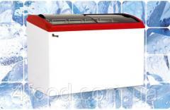 Морозильный ларь с гнутым стеклом Juka M500S