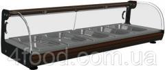 Барная витрина тепловая Carboma ВТ-1,5 7 гастроёмкостей в компл