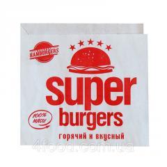 Упаковка для гамбургера Super Burgers