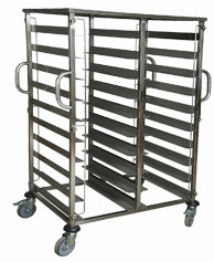 Тележка передвижная для подносов 6+6 пар направляющих Termobox Trolley 20
