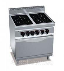 Инфракрасная плита GGM EIB899M+EB8S 4 конфорки-16 кВт + шкаф духовой электрический-7,5 кВт