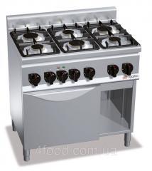 Плита газовая GHB969C+EB3U GGM 4 конфорок 18,6 кВт + шкаф духовой с конвекцией электрический 3 кВт