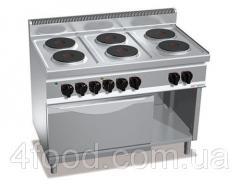 Плита электрическая GGM EHB179E+EB4U 6 конфорок 15,6 кВт + шкаф духовой с конвекцией электрической 3,5 кВт
