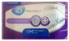 Одноразовые пеленки iD Protect Plus M 60x60 см. (30 шт.)