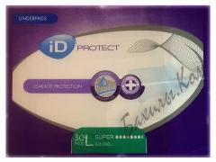 Одноразовые пеленки iD Protect Super L 60x90 см. (30 шт.)