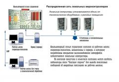 Automated control systems for technological
