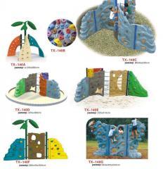 Скалодром для детской  площадки