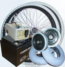 The spare parts to the medical equipment