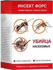 Саше для защиты от насекомых Инсект Форс